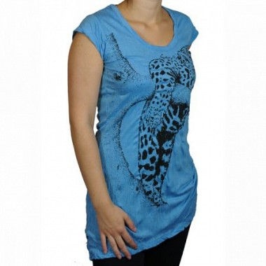 T-Shirt dress SURE Leopard